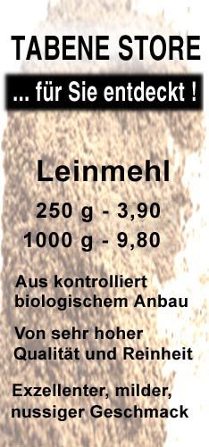 hochwertiges Phytoöstrogen aus Leinmehl